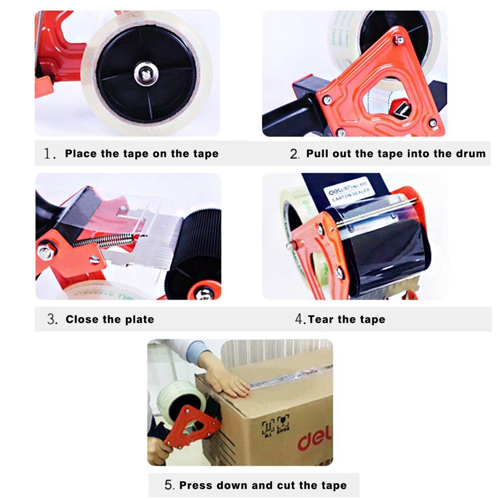 1 Pc Convenient Carton Sealer Tape Dispenser For Width 60...