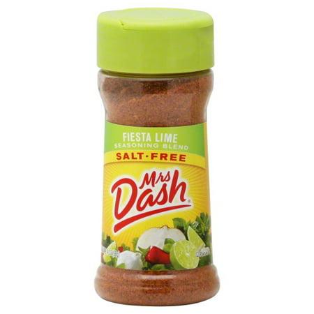 MRS DASH Fiesta Lime Salt-Free Seasoning Blend 2.4 OZ SHAKER
