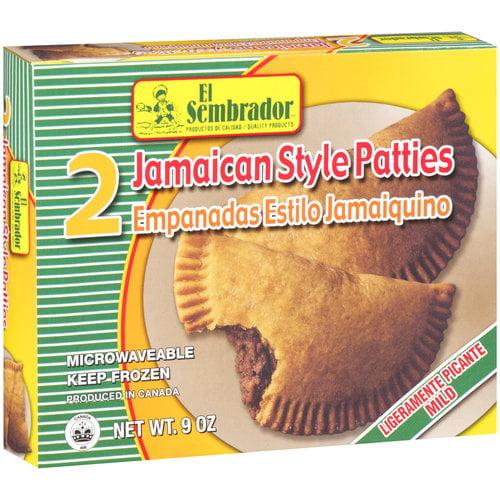 El Sembrador Jamaican Style Patties, 9 oz