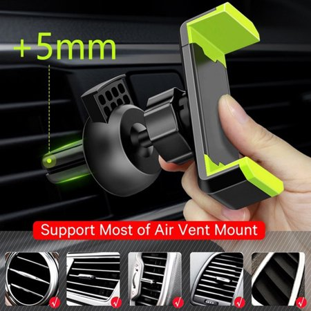 360 Degree Adjustable Car Phone holder Universal Air Vent Mount Holder For iPhone XS Max Samsung Xiaomi
