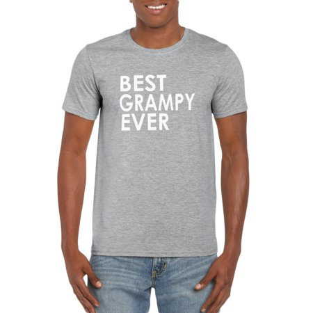 Best Grampy Ever T-Shirt- Gift Idea for Grandpa - Pregnancy Announcement - Funny Family Tee for New