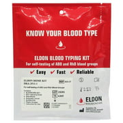 EldonCard Home Blood Testing Kits - Blood Type Test Kit - 2 Pack