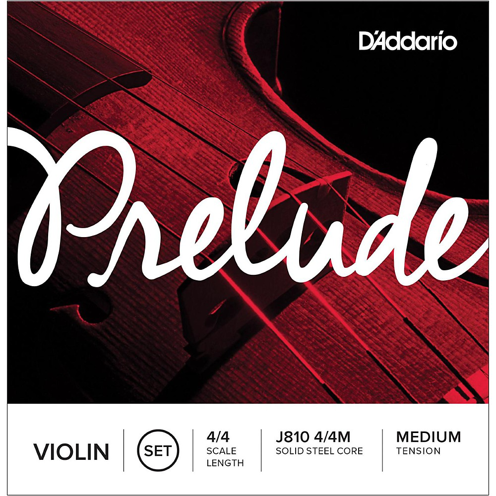 D'Addario Prelude Violin String Set 4 4 by D'Addario