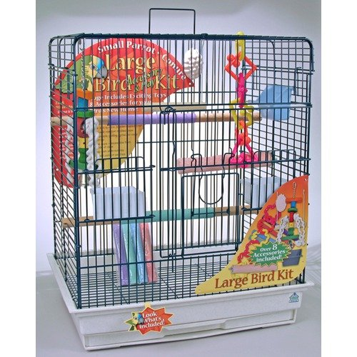 Blue Ribbon Pet Complete 28'' Bird Cage Kit for Large Bird