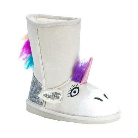 Kids Mukluk (MUK LUKS Kid's Luna Unicorn Boots)