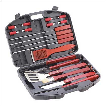 Home Locomotion Deluxe Barbeque Tools Set