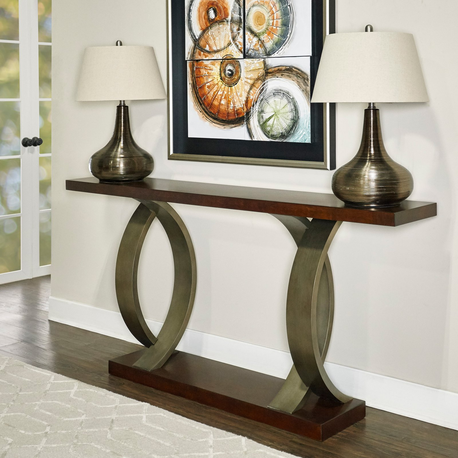 Powell Miles Console Table