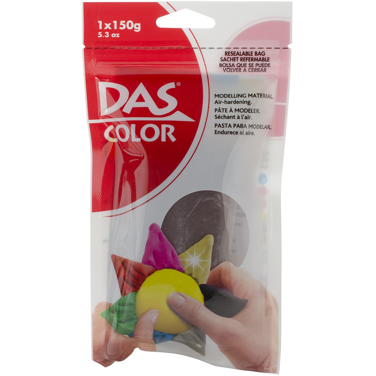 Das Color Modeling Clay - 1 Pack - Brown (dix-00397)