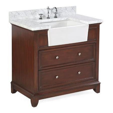 kitchen bath collection sophie 36 single bathroom vanity set