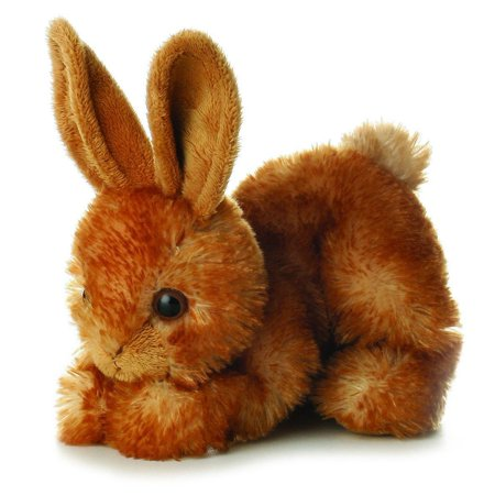 Bitty Bunny Mini Flopsie - Stuffed Animal by Aurora Plush