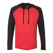 Burnside - Yarn-Dyed Raglan Hooded Pullover - 8127 - IWPF