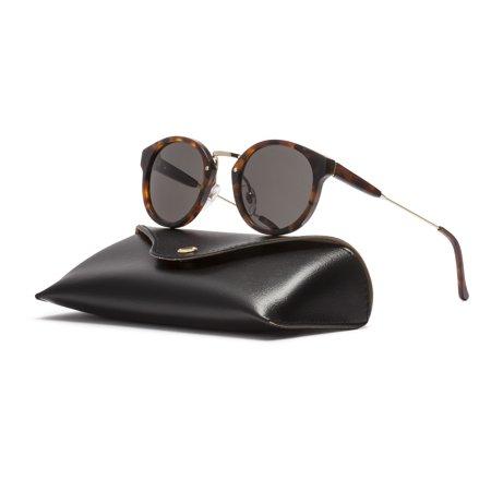 Black Havana Sunglasses - RETROSUPERFUTURE Super Panama Sunglasses SUD4R Havana Brown Frame Black Lenses