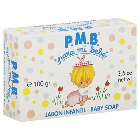P.M.B Para mi bebe Baby soap 3.5 oz (Disfraces Para Halloween Bebes)
