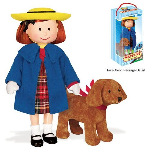 Madeline Poseable 8 in. Vinyl Doll with Genevieve 4 by YOTTOY