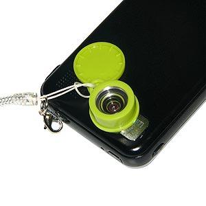 Kikkerland Wide Angle Jelly Lens for Mobile Phones, Tablets, Compact Digital Cameras