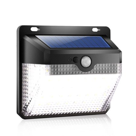 60 Lcd Wall - Solar Lights Outdoor [60 LEDs], Solar Powered Motion Sensor Lights Waterproof Security Wireless Wall Lights with 270° Wide Angle for Outdoor, Garden, Patio Yard, Deck Garage, Fence