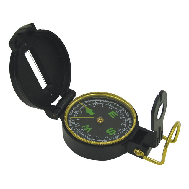 Stansport Lensatic Compass - Plastic