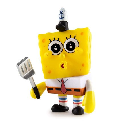 Kidrobot Minis - Many Faces of Spongebob Squarepants - Krusty Krab Training Video (Spongebob Creature From The Krusty Krab Review)