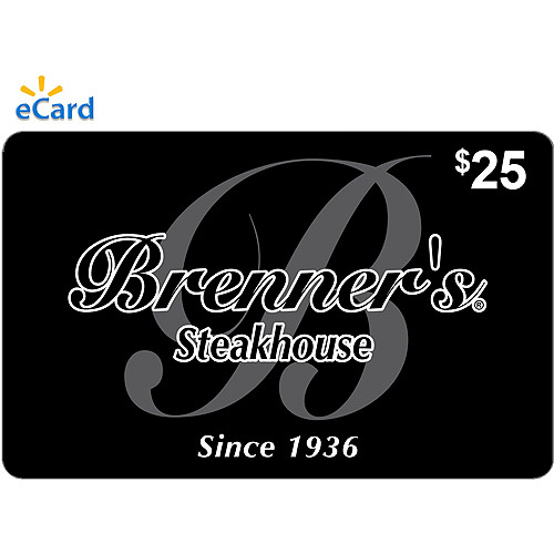 Brenner's Steakhouse $25 eGift Card (Email Delivery)