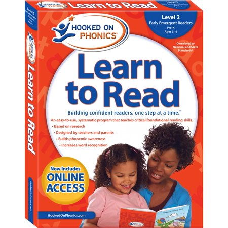 Hooked on Phonics Learn to Read - Level 2 : Early Emergent Readers (Pre-K | Ages