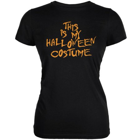 Funny Halloween Ecards (My Funny Cheap Halloween Costume Black Juniors Soft)