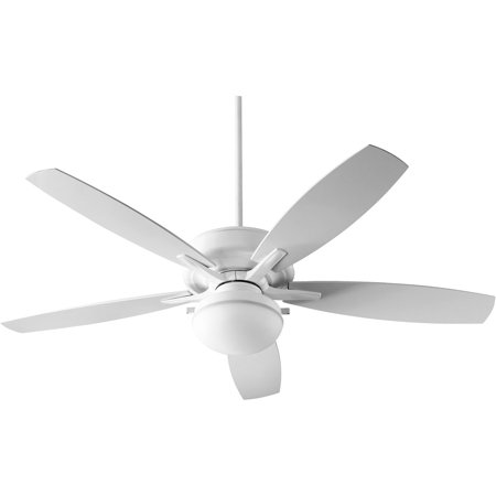 Indoor Ceiling Fans 2 Light With White Tone Finish Medium Base Bulb Type 26  Watts