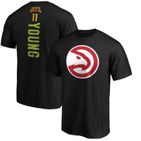 Trae Young Atlanta Hawks Fanatics Branded Team Playmaker Name & Number T-Shirt - Black