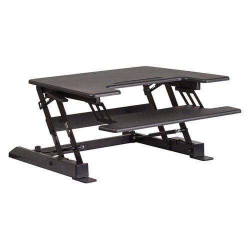 Symple Stuff Walton Height Adjustable Standing Desk Converter