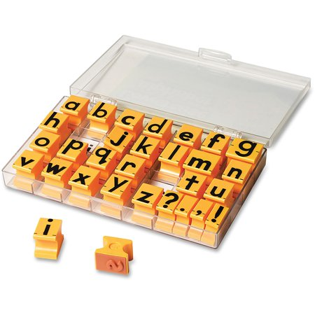Educational Insights Lowercase Alphabet Stamps, 30 / Set (Quantity)