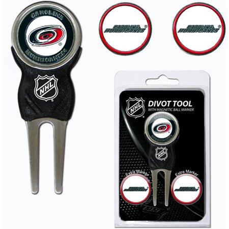 North Carolina Divot Tool - Team Golf NHL Carolina Hurricanes Divot Tool Pack With 3 Golf Ball Markers