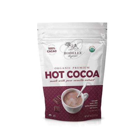 Rodelle Organic Hot Cocoa Mix 18oz (Best Organic Hot Cocoa)
