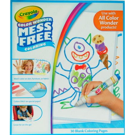 Crayola color wonder 30 page refill paper for Crayola color wonder 30 page refill paper