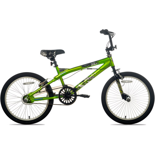 "20"" Kent Chaos Boys' Freestyle Bike, Green"