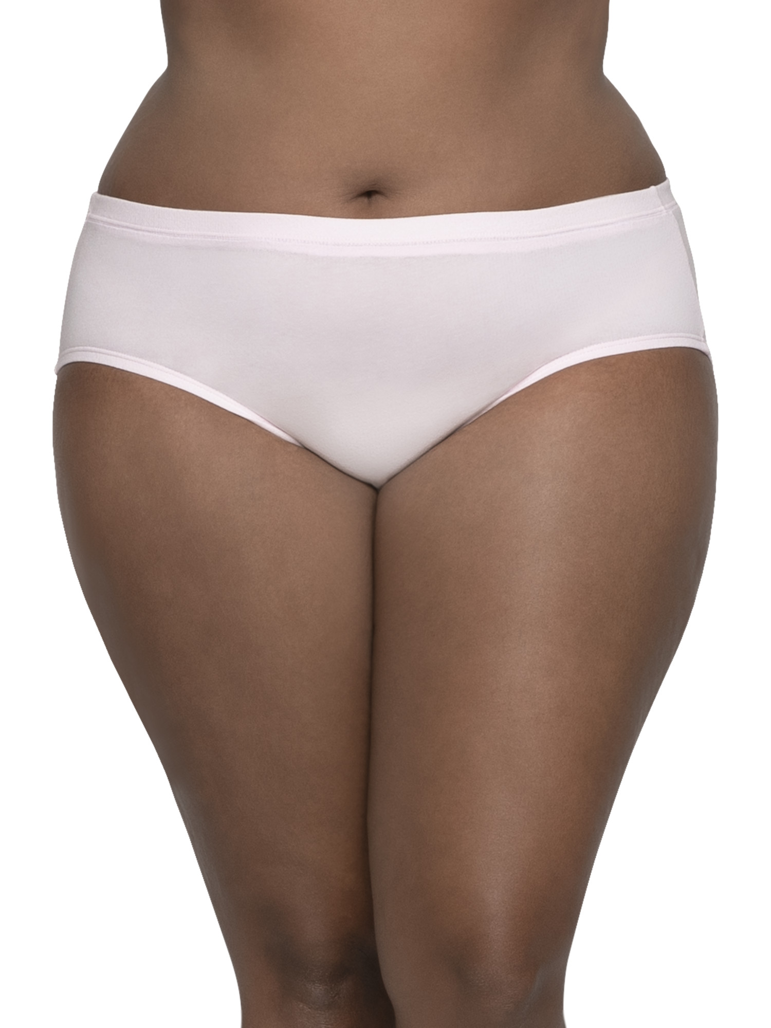 Fruit of the Loom Womens Plus-Size Non-Binding Brief Panties