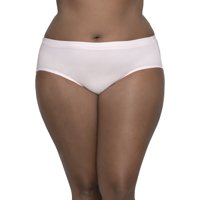 Fit for Me by Fruit of the Loom Women's Plus Breathable Cotton-Mesh Brief Panties - 5 Pack
