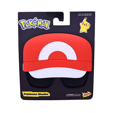 Ash Kethum Sunstache Sunglasses Pokemon Glasses Costume Halloween - Pokemon Ash Costume