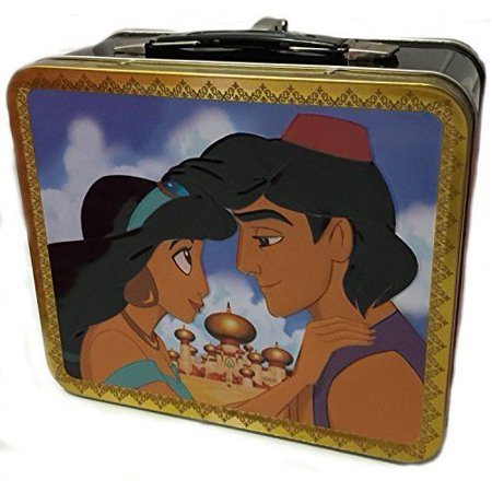 Lunch Box - Disney - Jasmine And Aladdin New Licensed Gifts wdlb0132