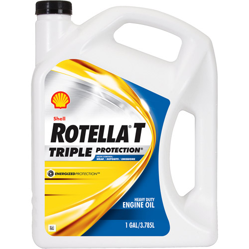 Rotella T 10W-30 Heavy Duty Diesel Oil, 1 gal.