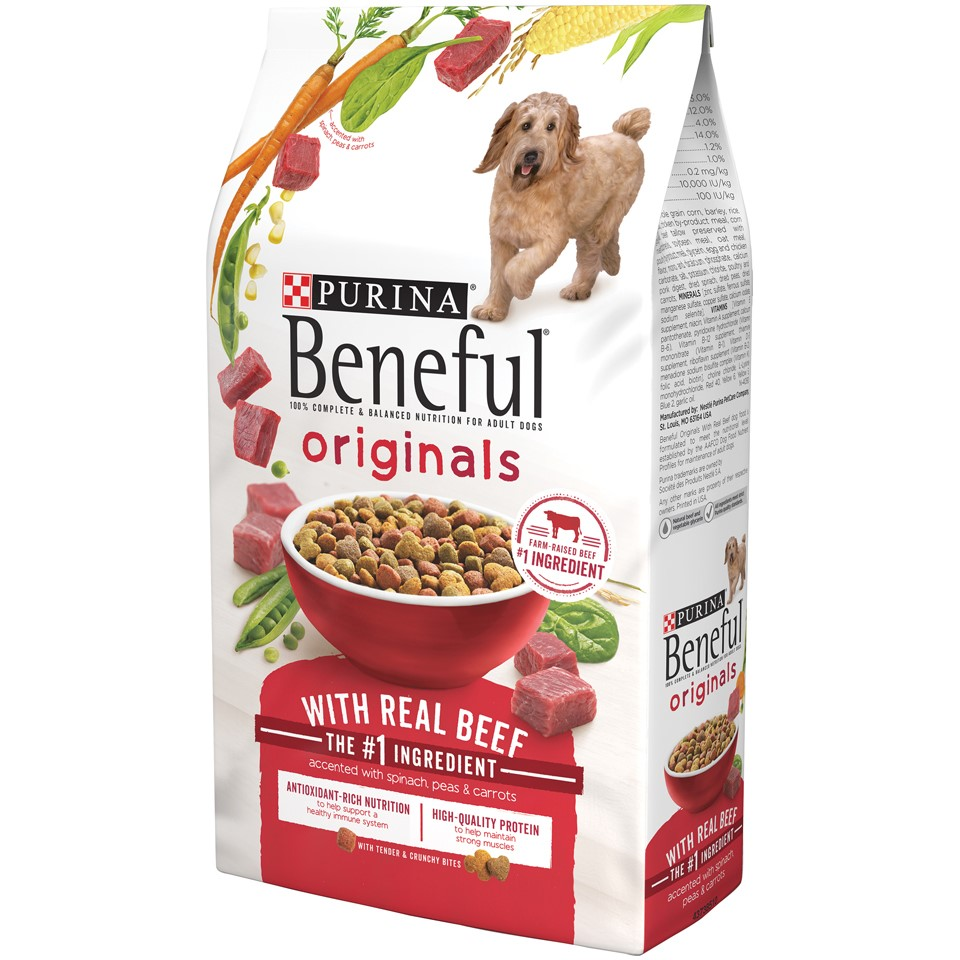 Purina Beneful Originals with Real Beef Dry Dog Food, 13 Lb.