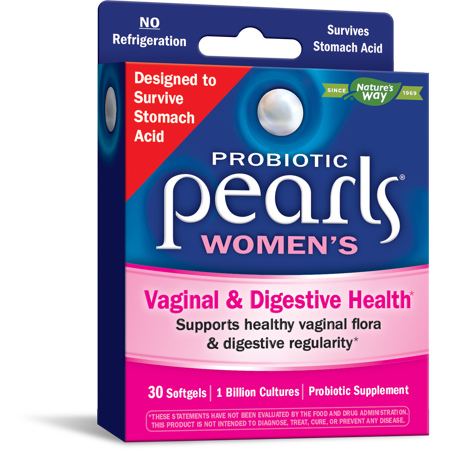 Probiotic Pearls Womens for Vaginal & Digestive Health 30