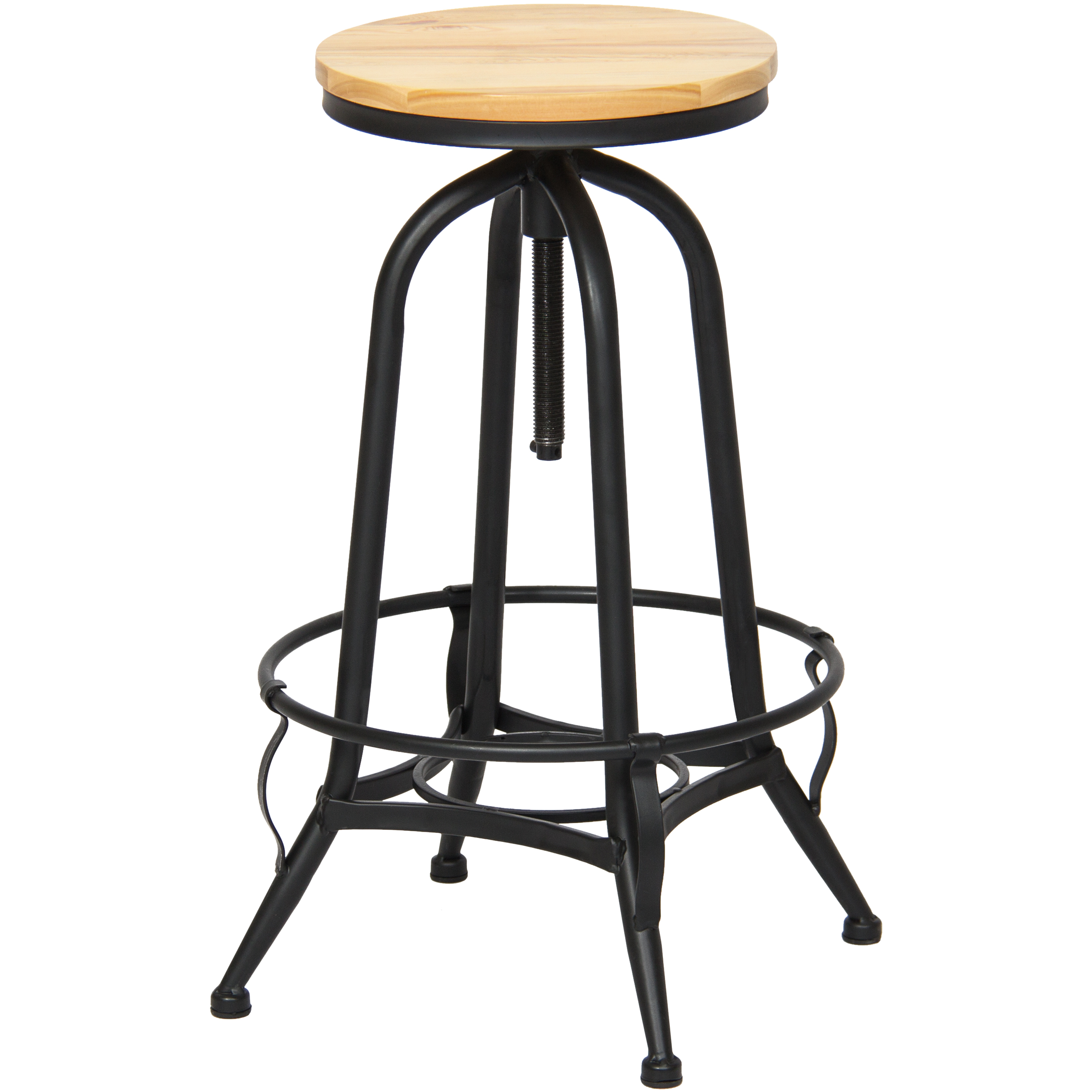 Best Choice Products Height Adjustable Vintage Industrial