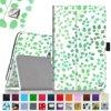 Verizon Ellipsis 8 Case - Fintie Premium Vegan Leather Folio Cover for Verizon Ellipsis 8 4G LTE Tablet, Leaf Breeze