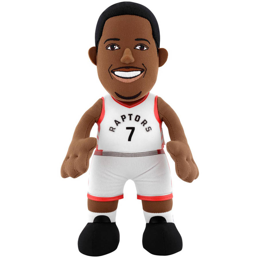 Generic NBA Toronto Raptors Kyle Lowry 10 Plush Figure