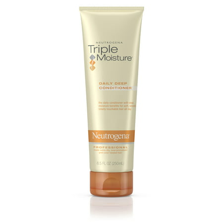 Neutrogena Triple Moisture Daily Deep Hair Conditioner, 8.5 fl. (Add Moisture Dry Hair)