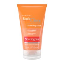 Facial Cleanser: Neutrogena Rapid Clear Foaming Scrub