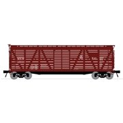 Broadway Limited 3353 N Milwaukee Road PRR K7 Stock Car with Cattle Sounds
