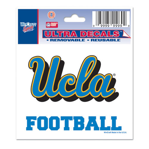 NCAA - UCLA Bruins 3x4 Football Decal