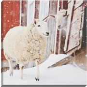 Paragon Snow Day by O'Brien Photographic Print on Wrapped Canvas