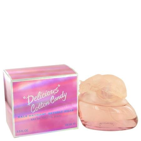 Delicious Cotton Candy by Gale Hayman - Eau De Toilette Spray 3.3 (De Cottons)