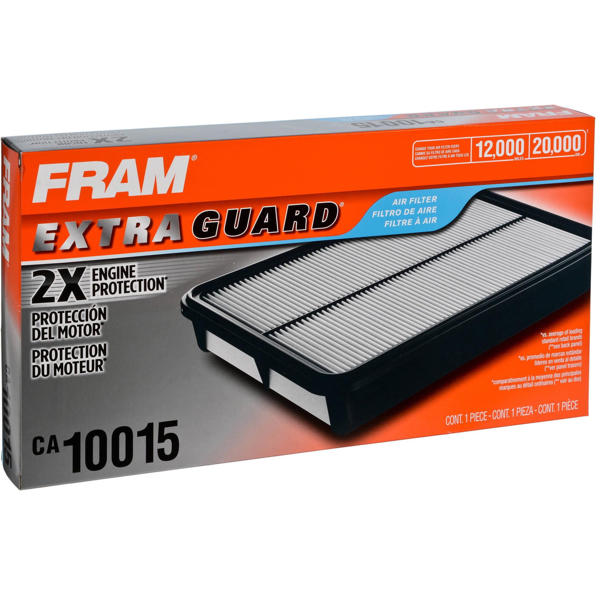 FRAM Extra Guard Air Filter, CA10015 by FRAM
